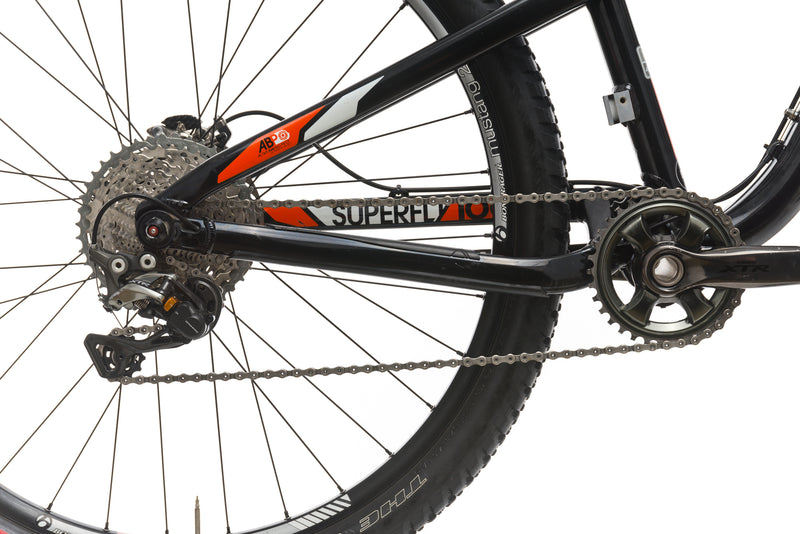 Trek Superfly 100 AL 17.5in Bike - 2012 sticker