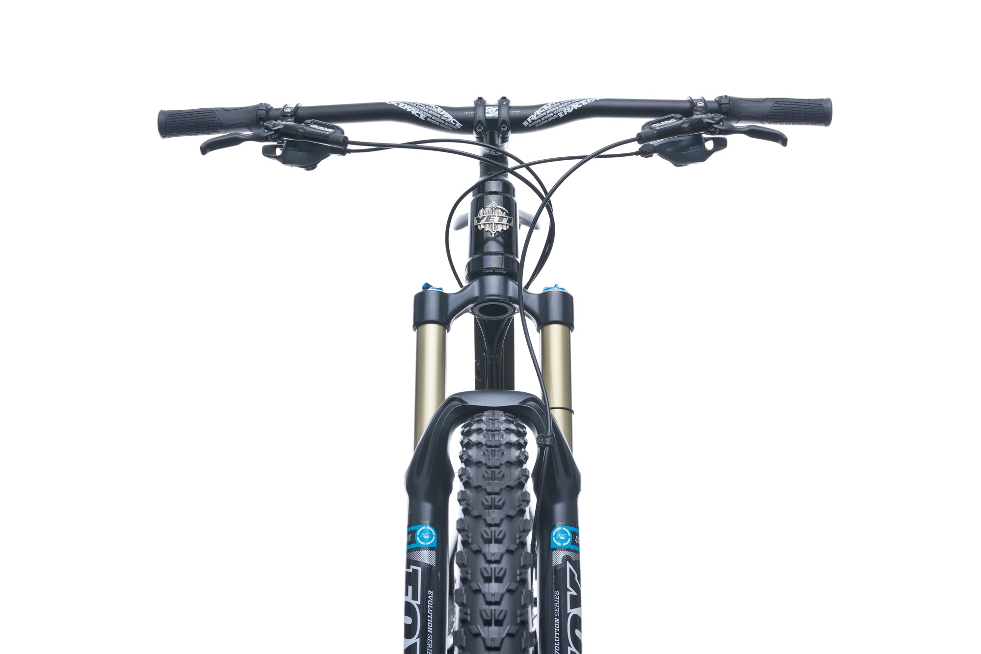 Yeti 575 Enduro Small Bike - 2015 cockpit