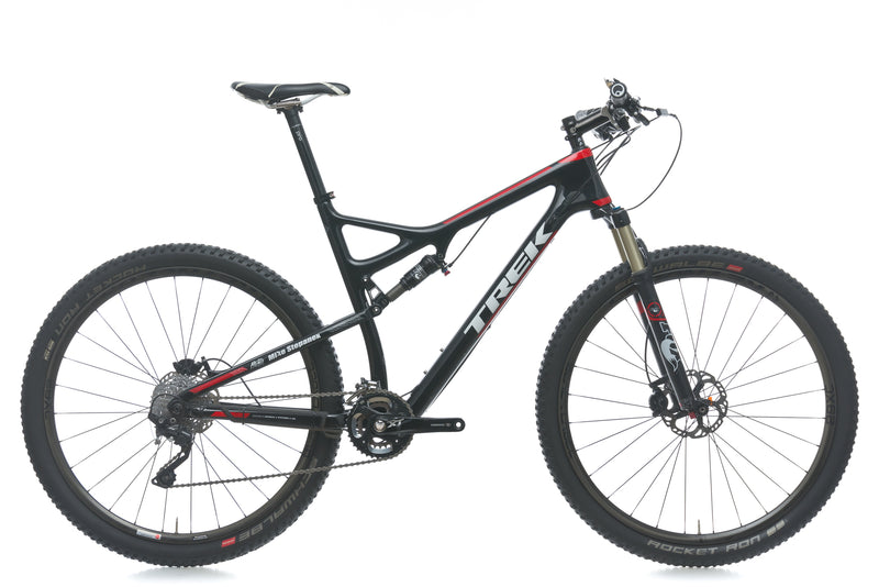 Trek Superfly 9.8 SL 21in Bike - 2014 drive side