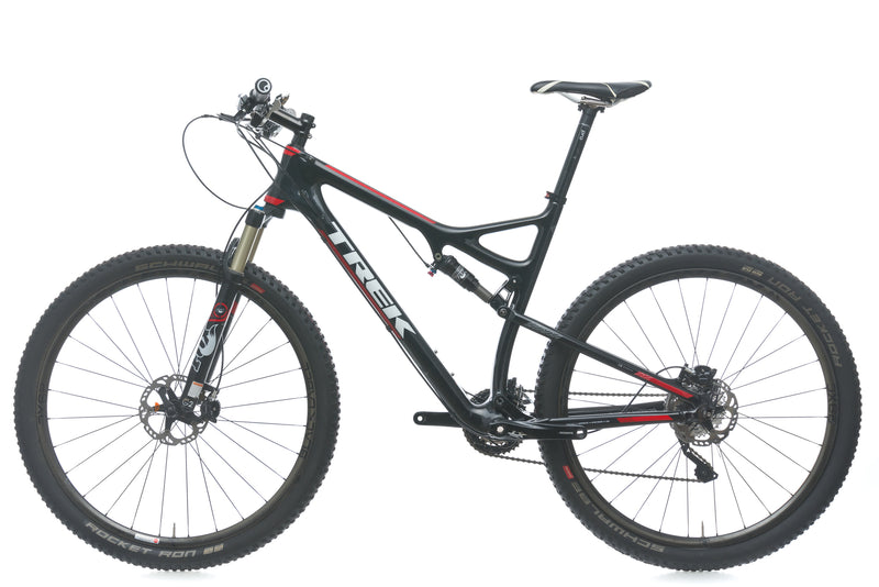 Trek Superfly 9.8 SL 21in Bike - 2014 non-drive side