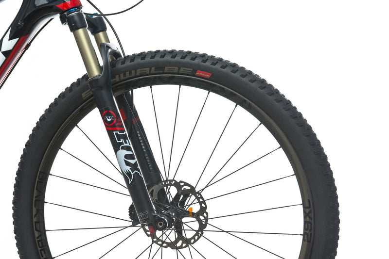 Trek Superfly 9.8 SL 21in Bike - 2014 front wheel