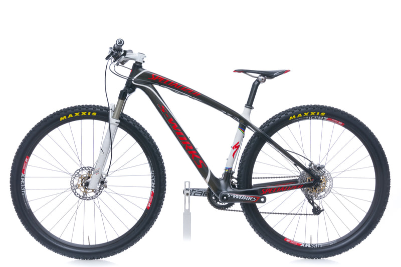Specialized S-Works Stumpjumper 29 17.5in Bike - 2010 non-drive side