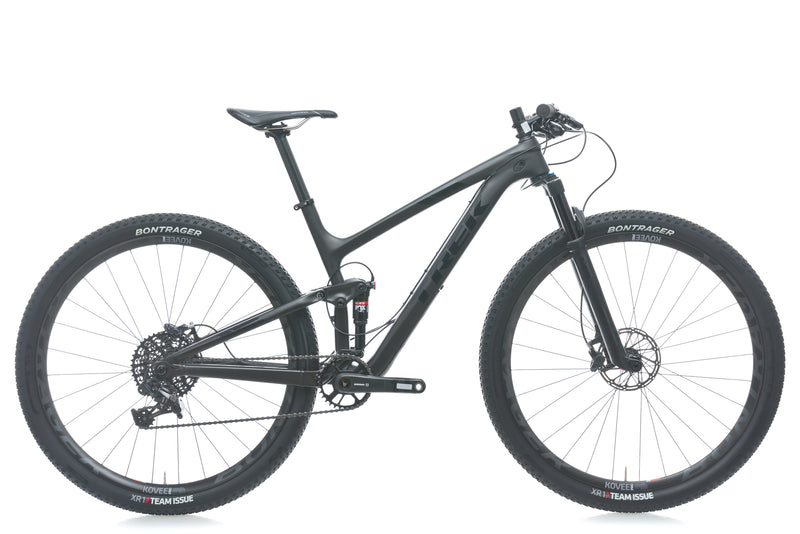Trek Top Fuel 9.8 SL 18.5in Bike - 2017 drive side