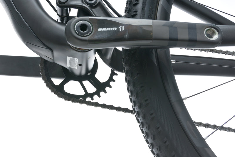 Trek Top Fuel 9.8 SL 18.5in Bike - 2017 crank