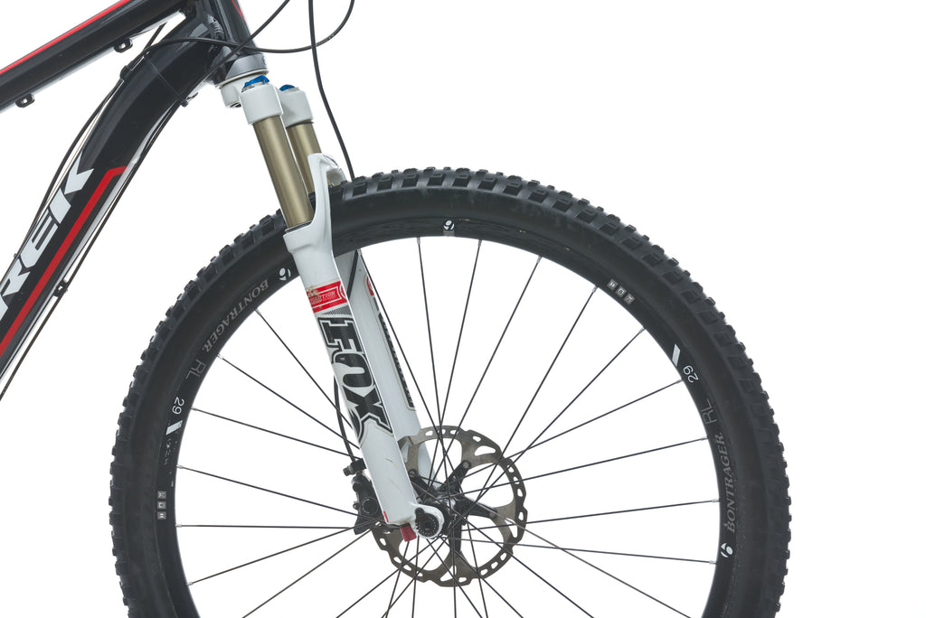 Trek Superfly 100 AL Pro 23in Bike - 2013 front wheel