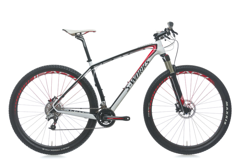 Specialized S-Works Stumpjumper 29er 19in Bike - 2011 drive side