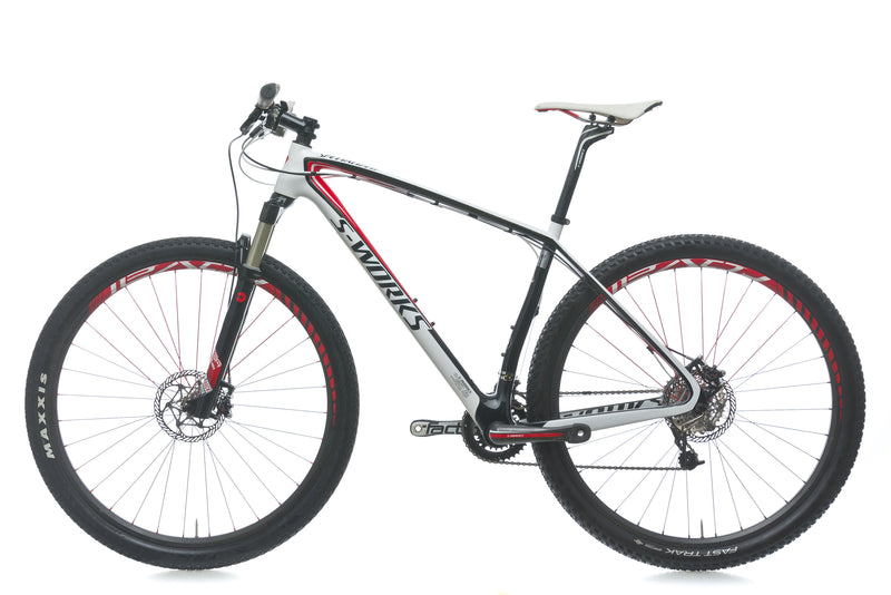 Specialized S-Works Stumpjumper 29er 19in Bike - 2011 non-drive side