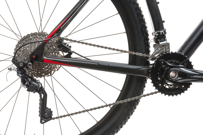 Trek Superfly 9.6 19.5in Bike - 2016 drivetrain