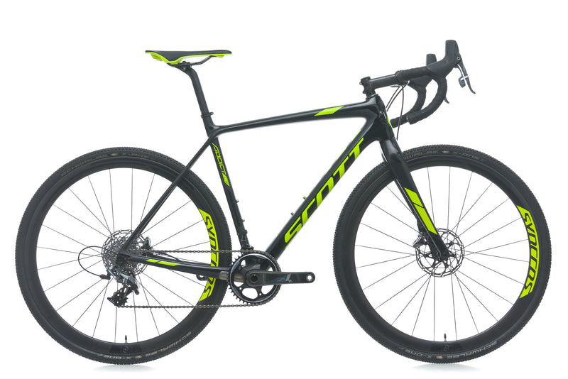 Scott Addict CX 10 Disc 54cm bike - 2018 drive side