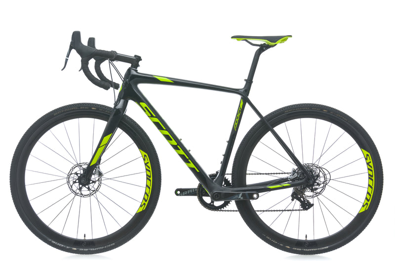 Scott Addict CX 10 Disc 54cm bike - 2018 non-drive side