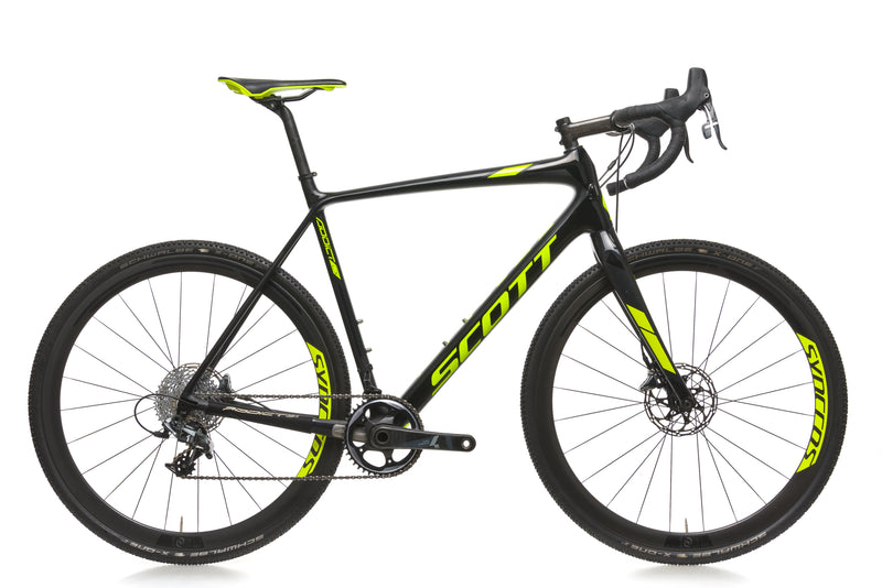 Scott Addict CX 10 Disc 58cm Bike- 2018 drive side