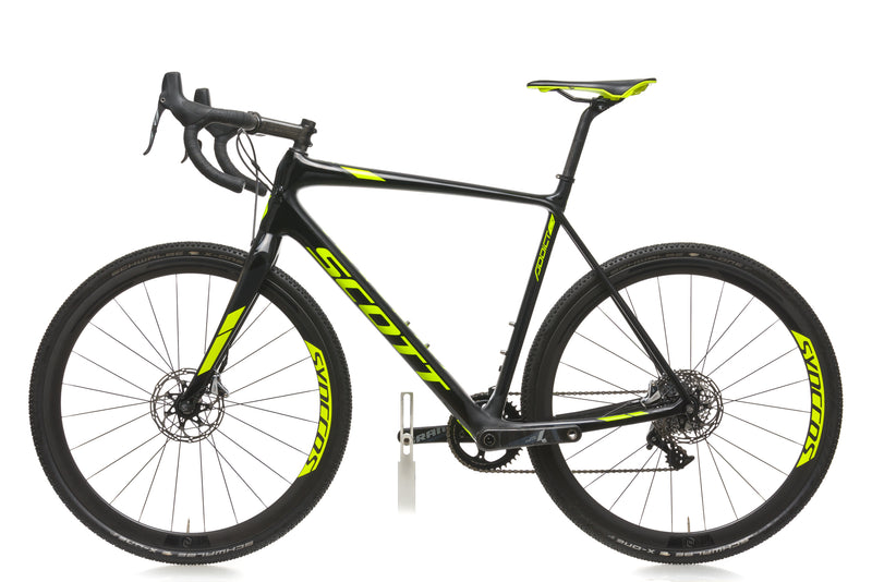 Scott Addict CX 10 Disc 58cm Bike- 2018 non-drive side