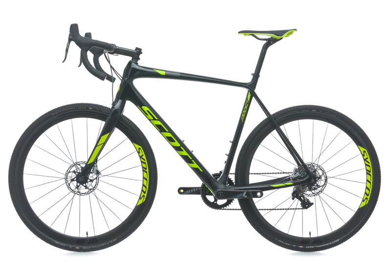 Scott Addict CX 10 Disc 58cm X-Large Bike - 2018 non-drive side