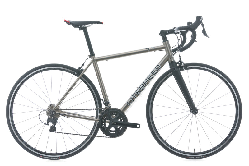 Litespeed T6 54cm Bike - 2017 drive side