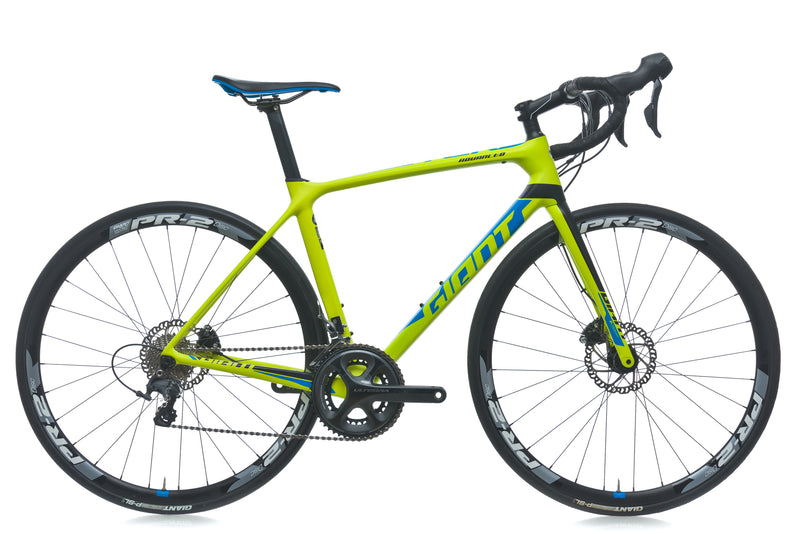 Giant TCR Advanced 1 Disc Medium Bike - 2017 drive side