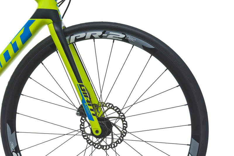 Giant TCR Advanced 1 Disc Medium Bike - 2017 drivetrain