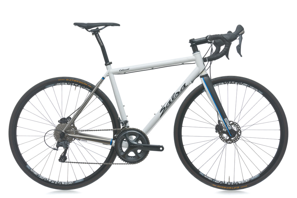 Salsa Colossal Ti 55cm Bike - 2014 drive side