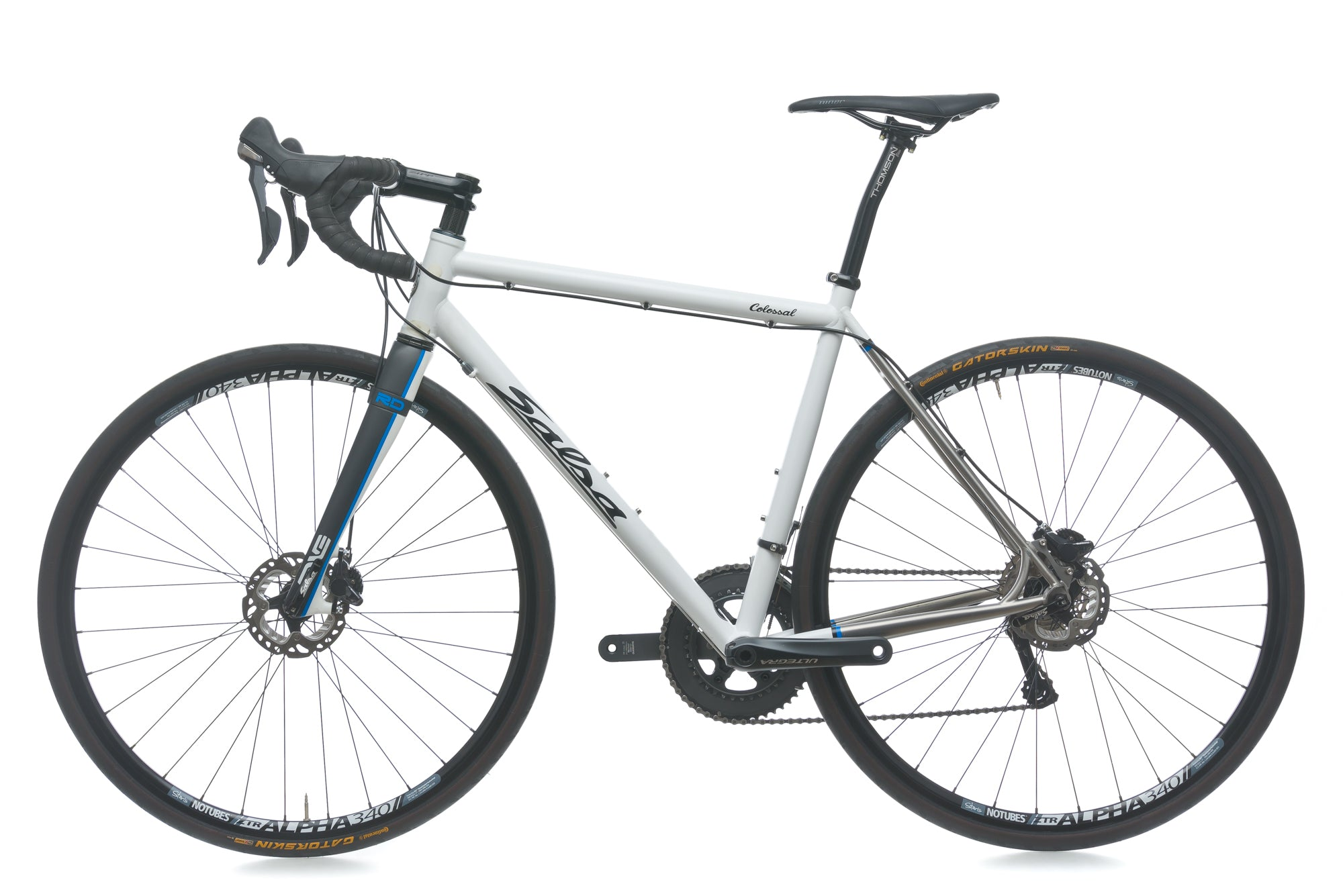 Salsa Colossal Ti 55cm Bike - 2014 non-drive side