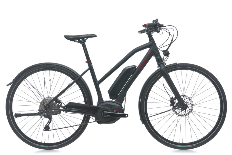 Trek XM700+ Lowstep Small Electric Bike - 2018 drive side