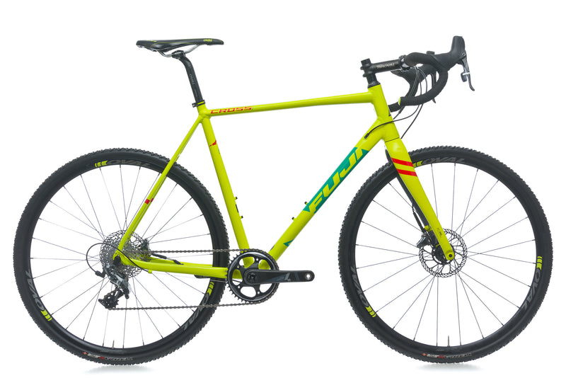 Fuji Cross 1.1 58cm Bike - 2017 drive side