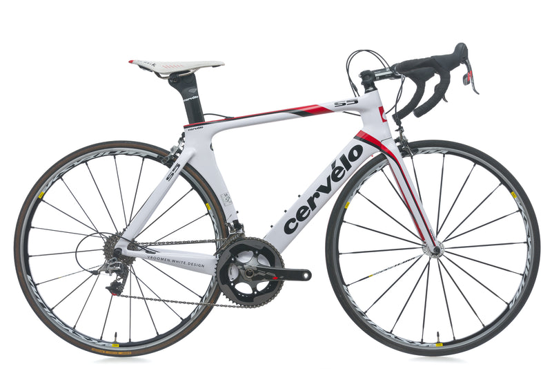 Cervelo S5 54cm Bike - 2012 drive side