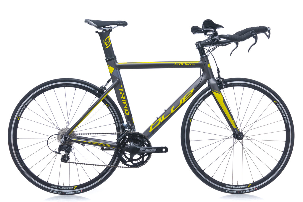 Blue Triad AL Medium Bike - 2017 drive side