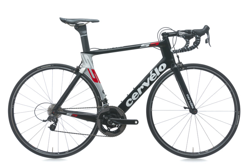 Cervelo S5 56cm Bike - 2013 drive side