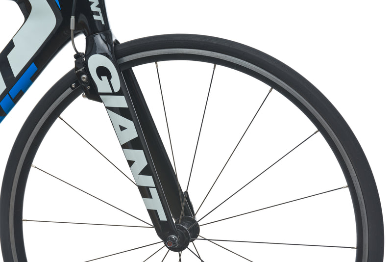 Giant Trinity Composite Medium Bike - 2015 drivetrain