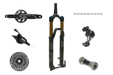 SRAM GX Eagle groupset & Fox Factory 36 140mm fork