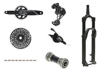 SRAM GX Eagle groupset & RockShox Pike 140mm fork