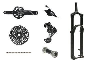 SRAM GX Eagle groupset & RockShox Lyrik 160mm fork