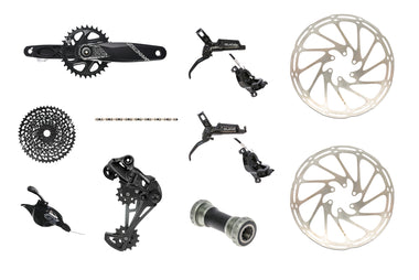 SRAM GX Eagle groupset & Guide R brakeset