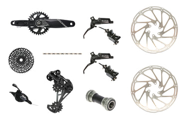 SRAM GX Eagle groupset & Guide RE brakeset