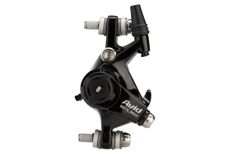 Avid BB7S Road Cable Disc Brake Caliper Black Anodized drive side