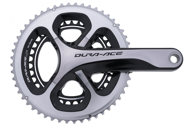 Shimano Dura-Ace FC-9000 Crankset 11 Speed 170mm 52/36T 110mm BCD drive side