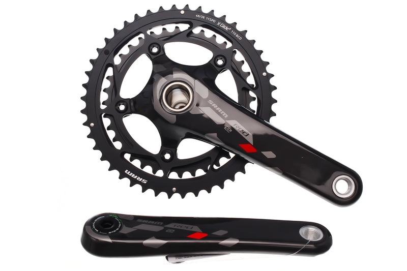 SRAM Red 22 Crank Set 11 Speed 172.5mm 46/36T 110mm GXP drive side
