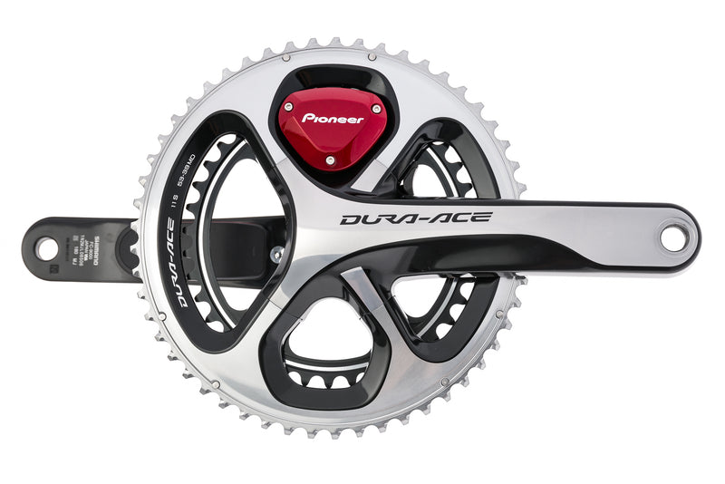 Pioneer Dura-Ace FC-9000 Dual Leg Power Meter Crank Set 11 Speed 180mm 53/39T 110mm BCD Hollowtech II drive side