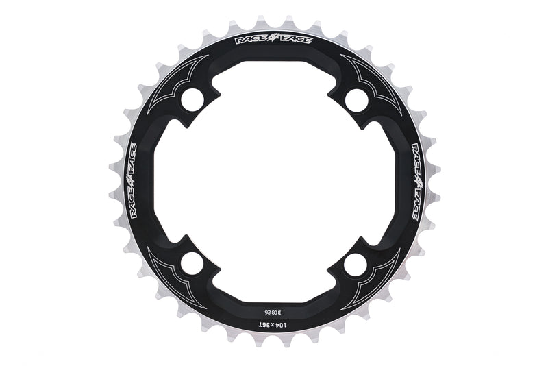 Race Face DH Chainring 10 Speed 36T 104mm BCD Black drive side