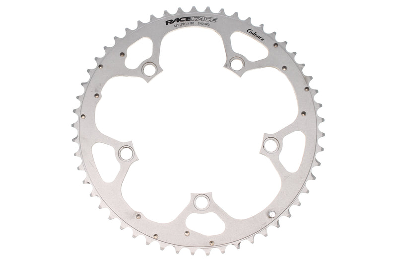 RaceFace Cadence Chainring 9/10 Speed 53T 130mm BCD drive side