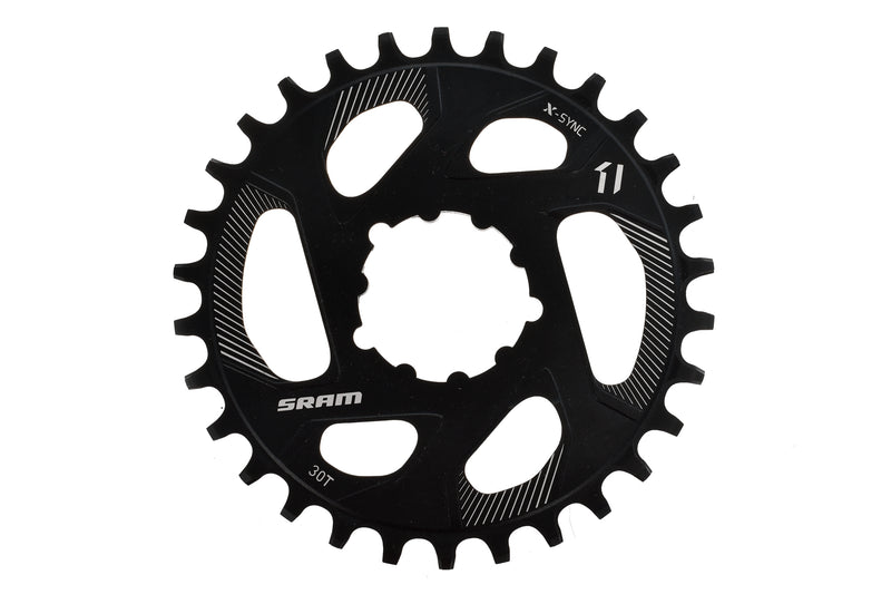 SRAM X-Sync Chainring 11 Speed 30T 0mm Offset Direct Mount drive side