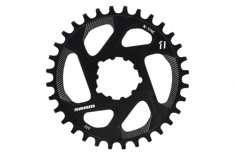 SRAM X-Sync Chainring 11 Speed 32T 0mm Offset Direct Mount drive side