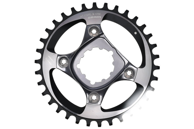 SRAM X-Sync Chainring 11 Speed 34T Direct Mount drive side