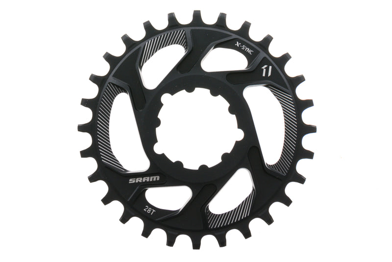 SRAM XX1 X-Sync Chainring 28T 6mm Offset 11 Speed Direct Mount drive side