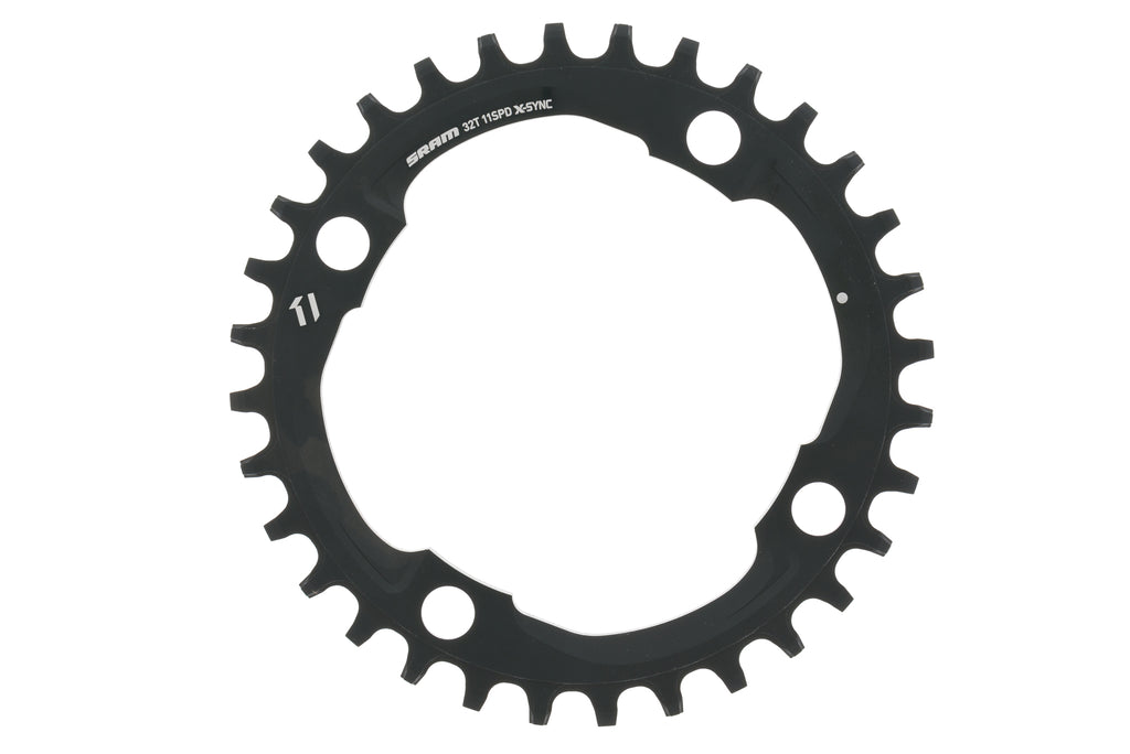 SRAM X-Sync Chainring 11 Speed 32T 104mm BCD Black