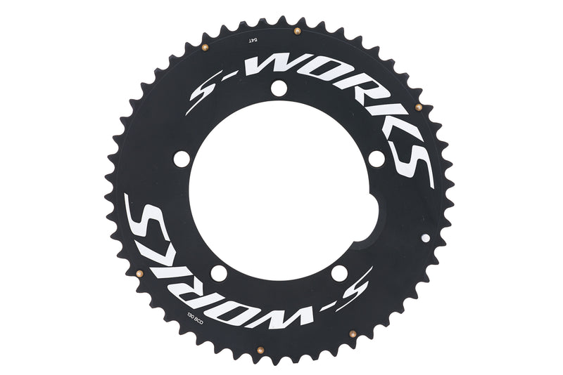 Specialized S-Works Chainring 10 Speed 54T 130mm BCD drive side