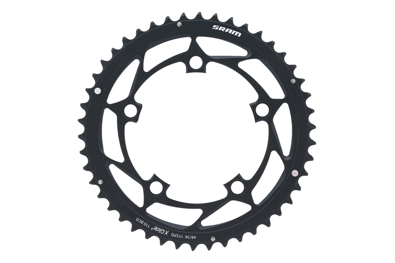 SRAM X-Glide Chainring 11 Speed 46T 110mm BCD Black drive side