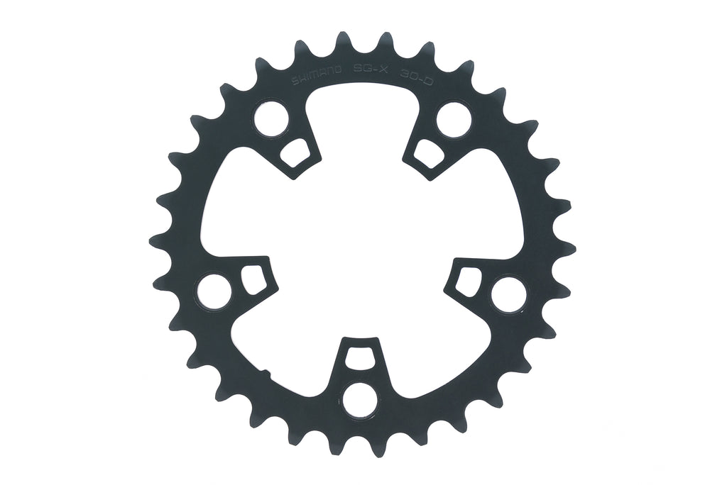 Shimano Ultegra SG-X FC-6703 Chainring 10 Speed 30T for Triple Crank Set Gray drive side