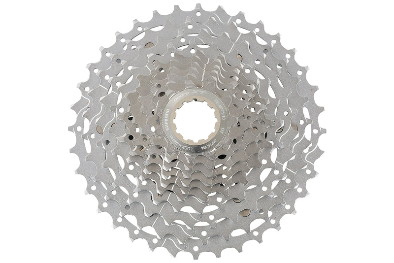 Shimano Deore XT CS-M771 Cassette 10 Speed 11-34T drive side