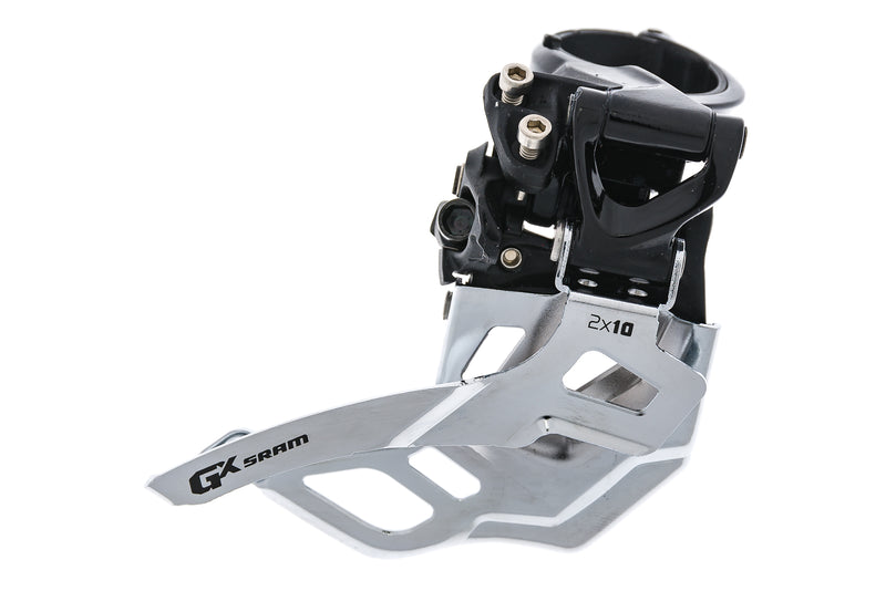 SRAM GX Front Derailleur 2x10 Speed 31.8/34.9mm High Clamp Top Pull drive side