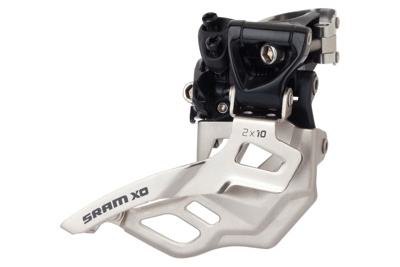 SRAM X0 Front Derailleur 2x10 Speed 34.9mm High Clamp Top Pull 39T Max drive side